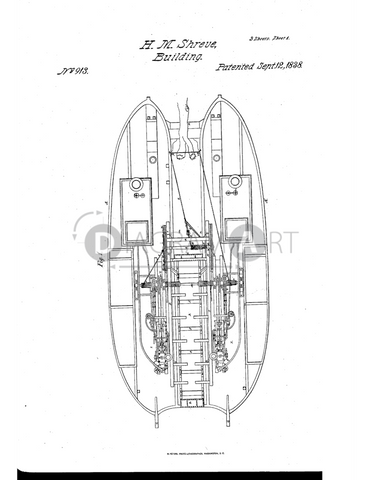 USPTO Patent_0000913 , Free Sketch - Diagramart Author, DiagramArt