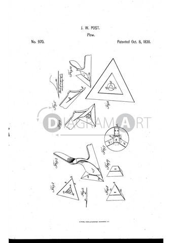 USPTO Patent_0000970 , Free Sketch - Diagramart Author, DiagramArt