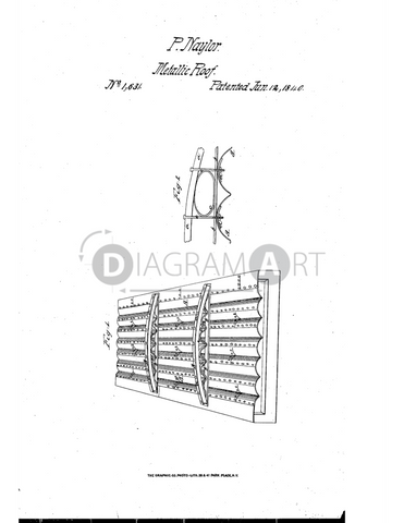 USPTO Patent_0001631 , Free Sketch - Diagramart Author, DiagramArt