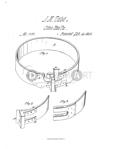USPTO Patent_0001790 , Free Sketch - Diagramart Author, DiagramArt