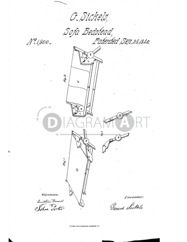 USPTO Patent_0001800 , Free Sketch - Diagramart Author, DiagramArt