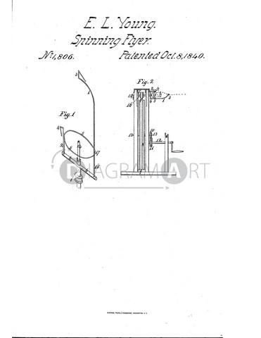 USPTO Patent_0001806 , Free Sketch - Diagramart Author, DiagramArt