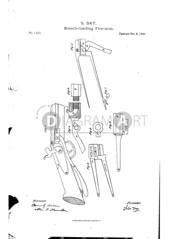 USPTO Patent_0001810 , Free Sketch - Diagramart Author, DiagramArt