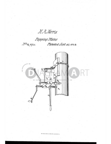 USPTO Patent_0002794 , Free Sketch - Diagramart Author, DiagramArt