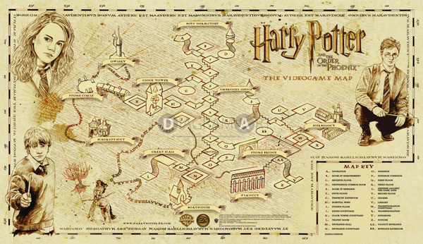 Harry Potter and the Order of Phoenix , Free Sketch - DIAGRAMART AUTHOR, DiagramArt