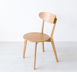 Solid wood Nordic style dining chair