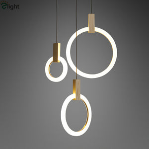 Customized Circle Led Pendant