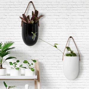 Wall Hanging Ceramic Planters