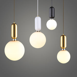 Modern Simple Led Pendant Lights