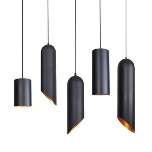 Nordic Retro Industrial Decoration Black Antique Style Edison Bulb Chandelier Deco Rope Light Lampshade Vintage Pendent Lamps