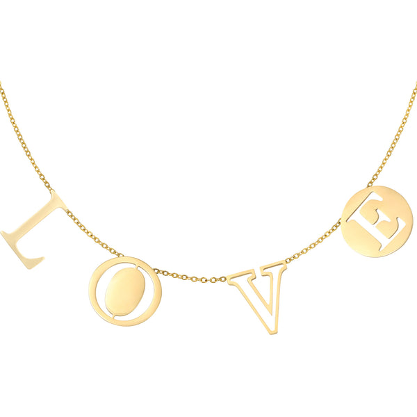 Coin Love Necklace