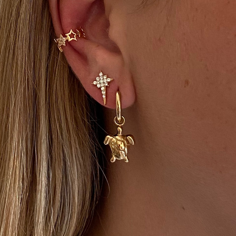 Gold Earpin Northern Star