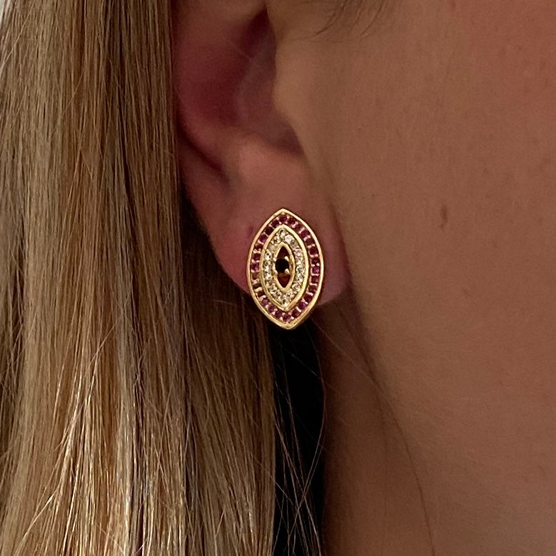 Ear Stud Lucky Eye