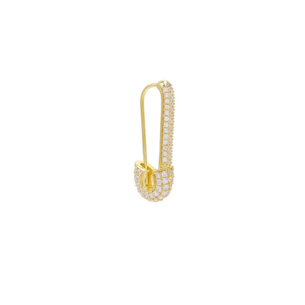 Earring safety pin