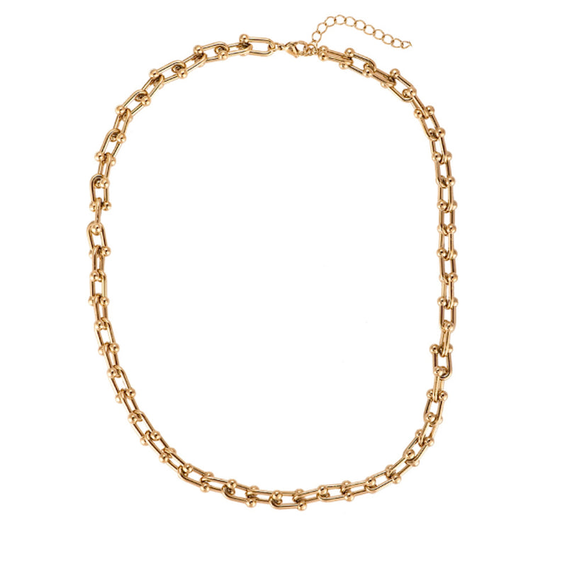 Tiffany City HardWear graduated link necklace -gold necklace-trendy jewellery