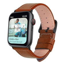 Load image into Gallery viewer, Premium Leather Strap for Apple iWatch