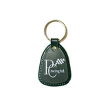 RACE ON SUNDAY KEYCHAIN