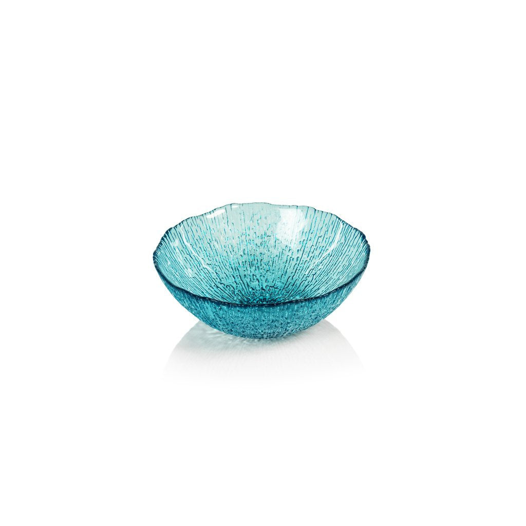 Kauai Aqua Blue Glass Bowl
