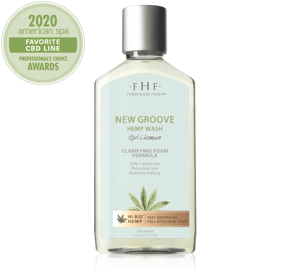 New Groove Hi Bio Hemp Wash Gel Cleanser
