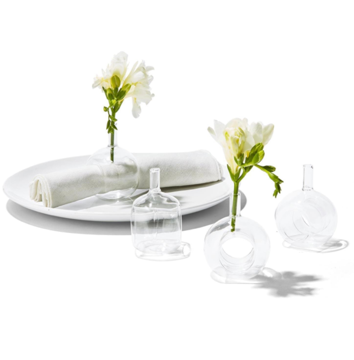 Vase Napkin Ring Set of 4