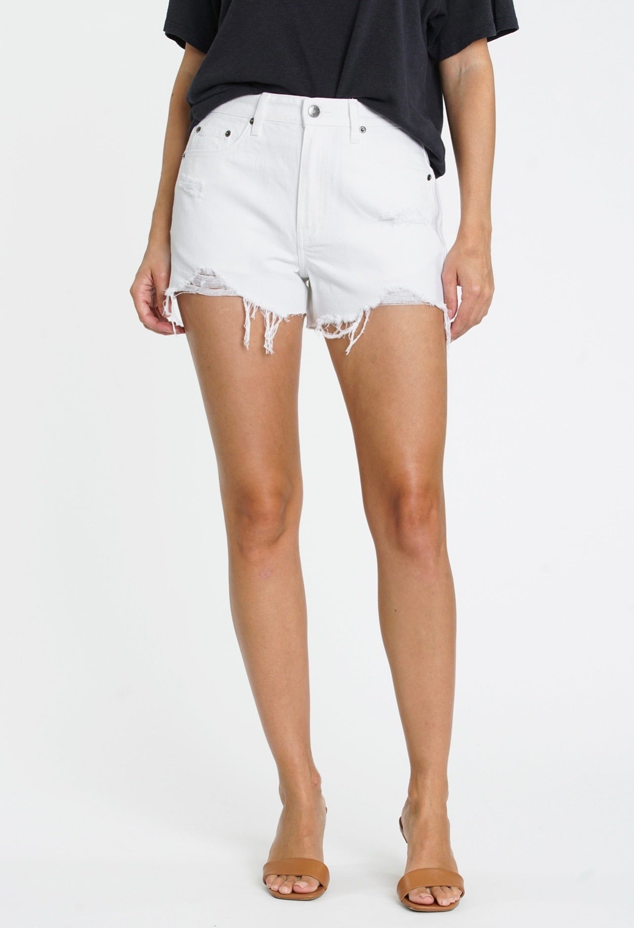 Nova Low Rise Denim Shorts