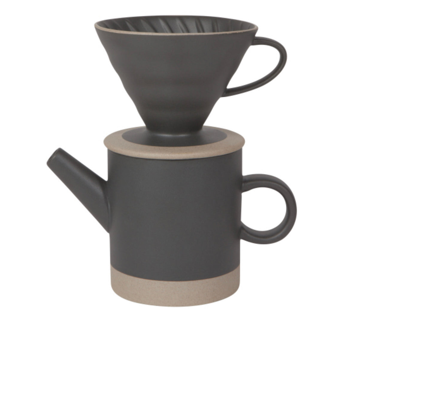 Pour Over Coffe Set Matte Black