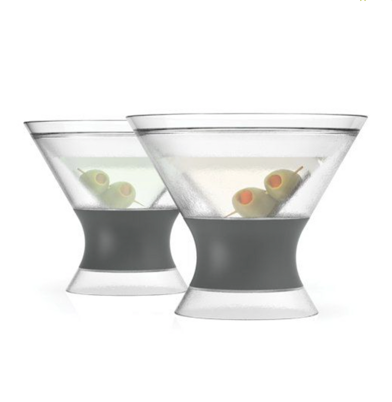 Martini Freeze Cooling Cups (set of 2) by HOST®