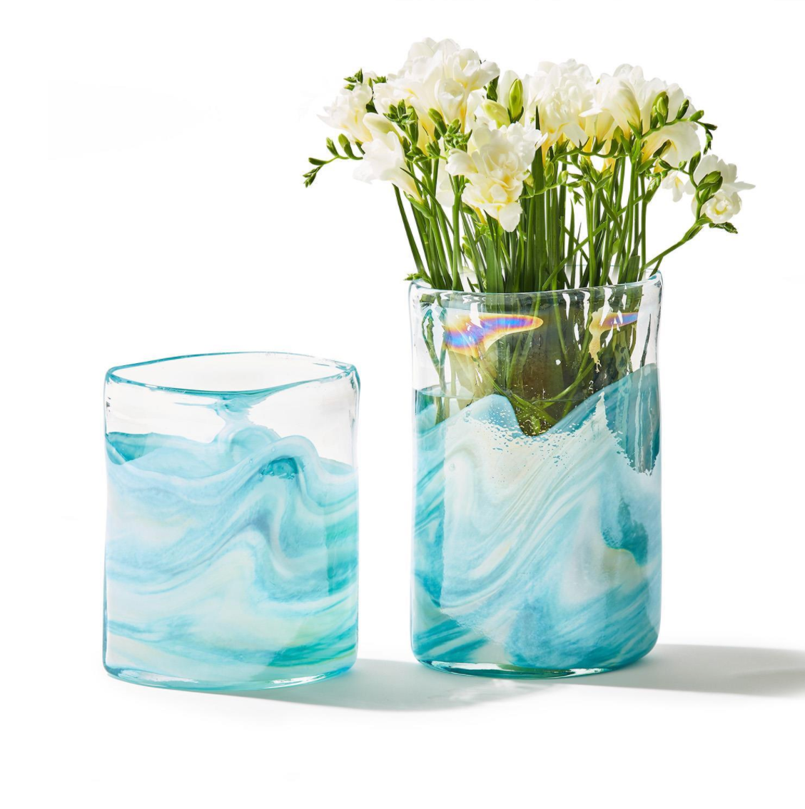 Ocean Waves Vases