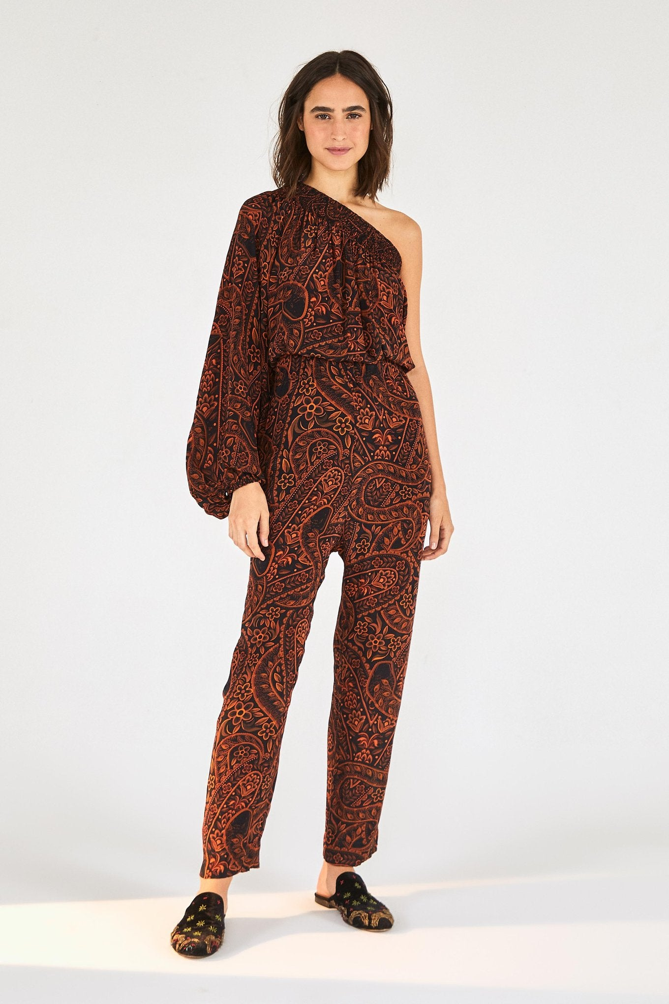 Camouflage Snake Jumpsuit