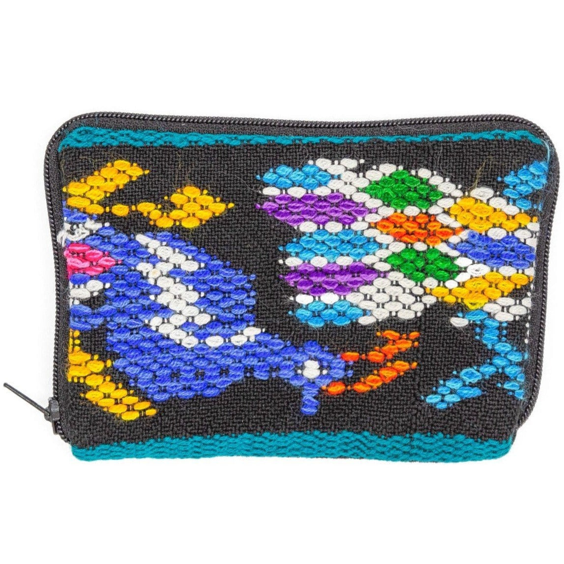 Guatemalan 2 Pocket Coin Purse