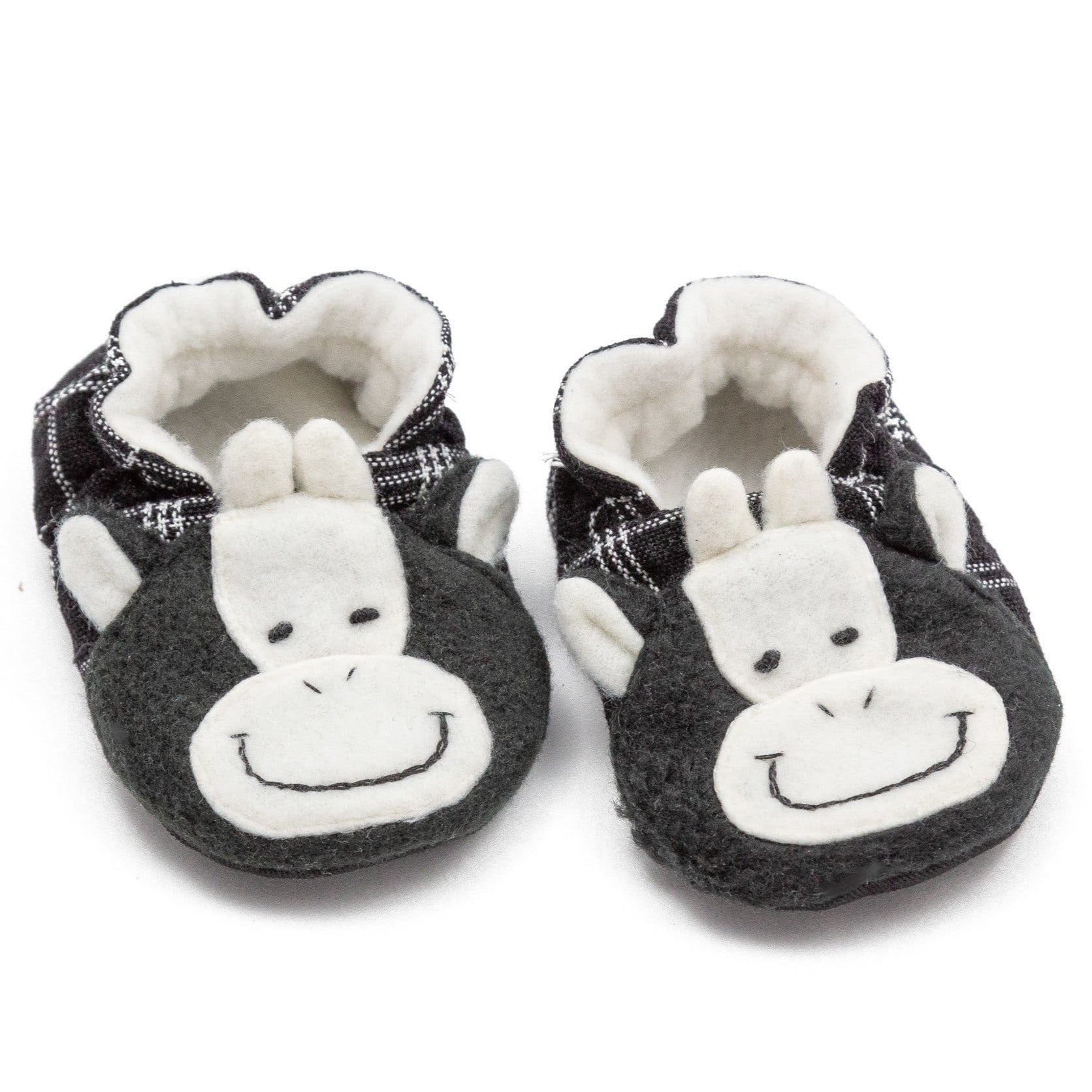 Fair Trade Cow Baby Booties ?id=13944132370485