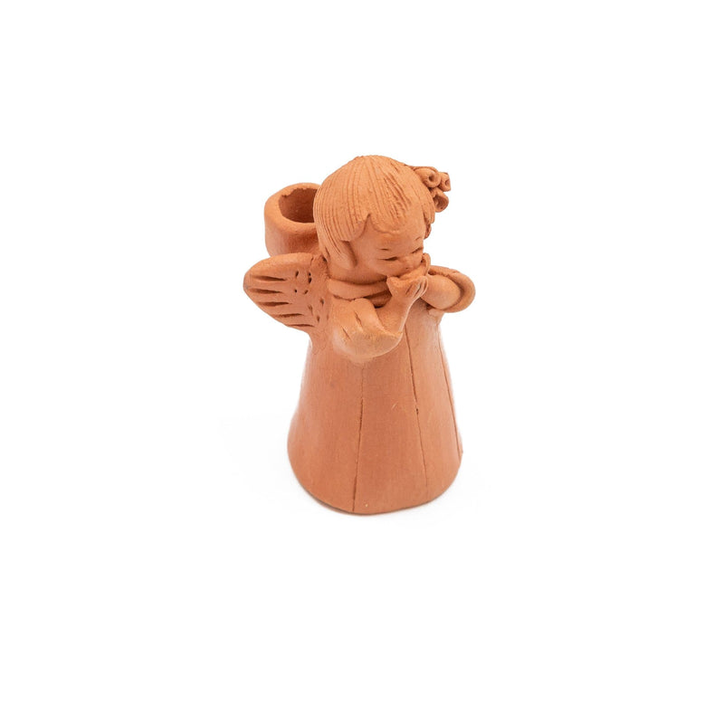 Fair Trade Angel Terracotta Candleholder  ?id=13959171932213