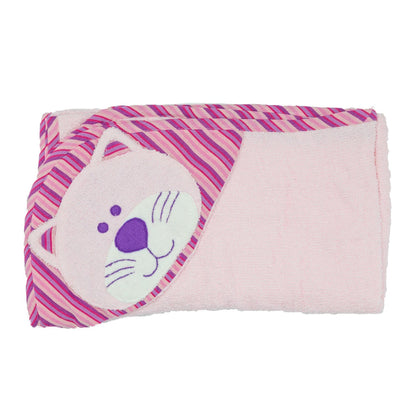 Cat Hooded Towel - Pink ?id=14022265798709