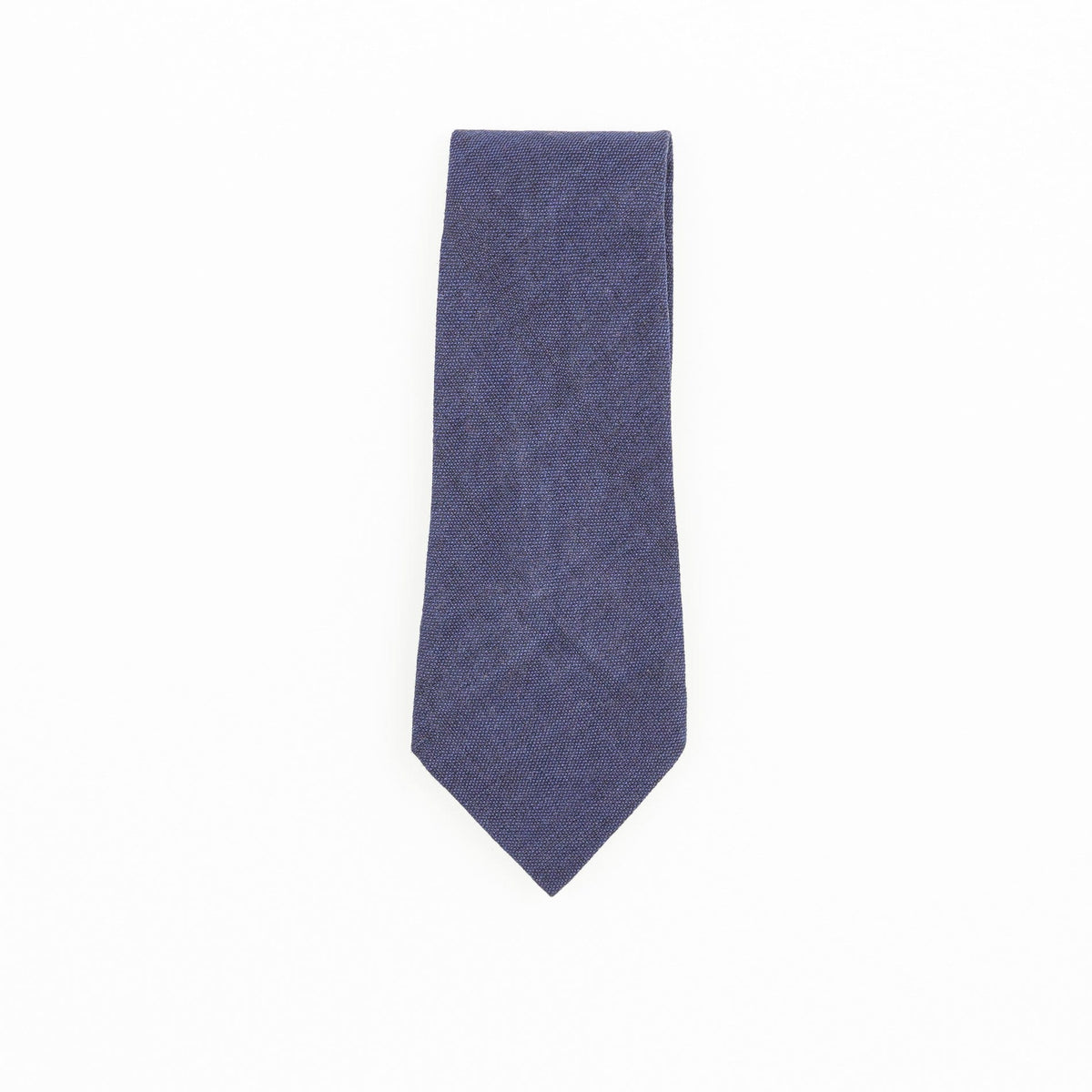 Fair Trade Guatemalan Cotton Tie Navy Blue