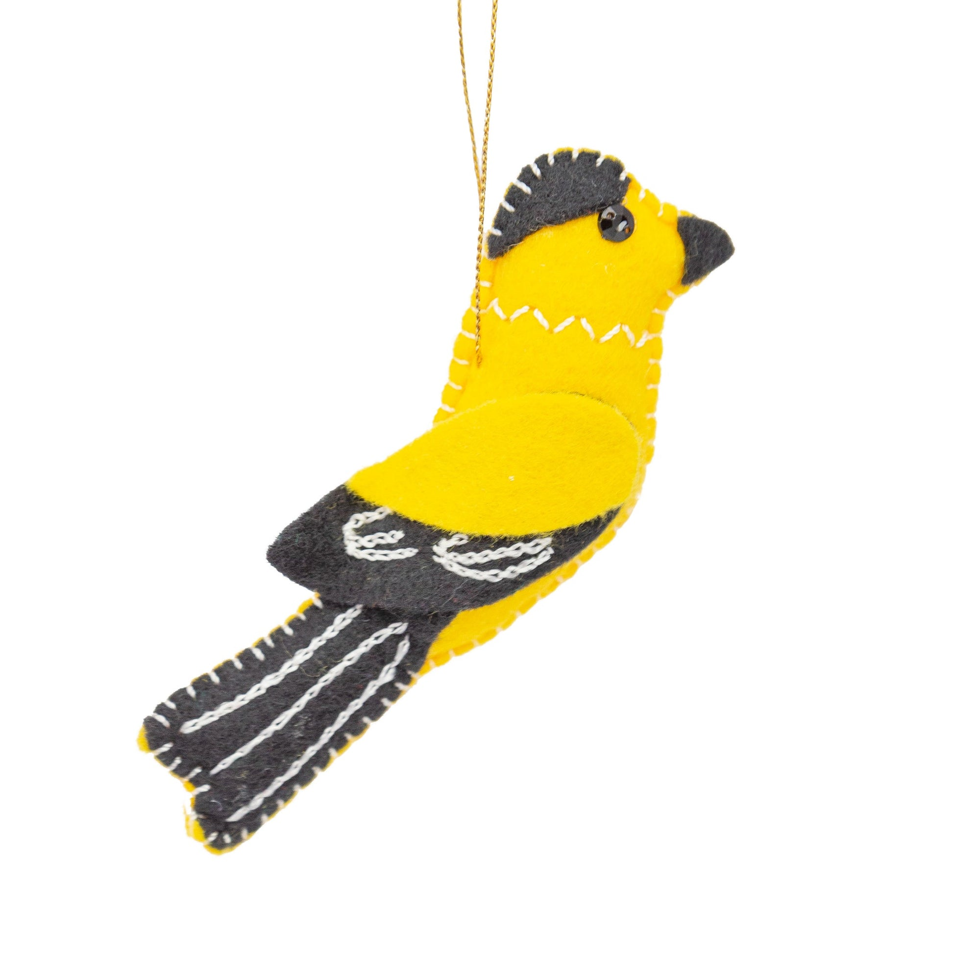 Goldfinch Felt Ornament