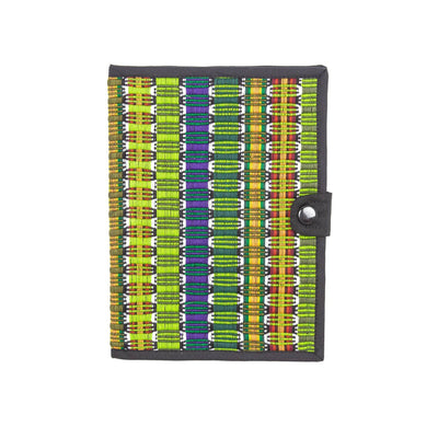 Fair Trade Honeycomb Notebook Green