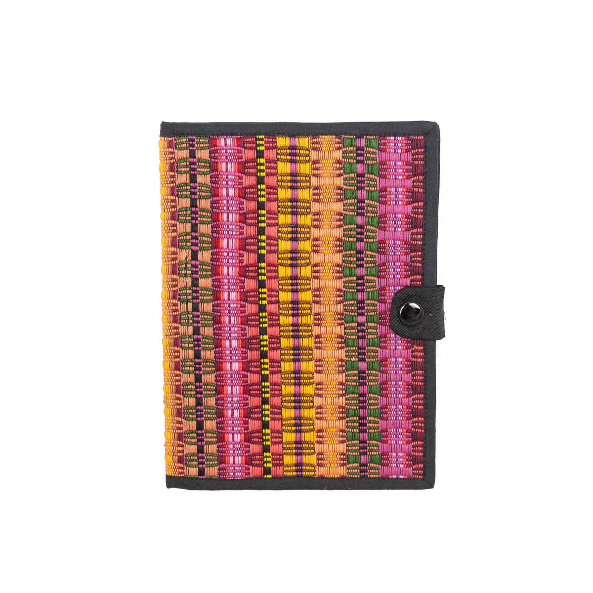 Fair Trade Honeycomb Notebook Pink Orange