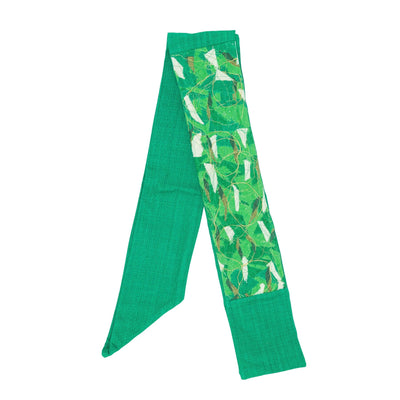 Green Contemporary Stole