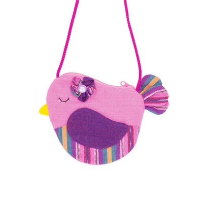 Fair Trade Birdie Purse Pink ?id=14031161163829