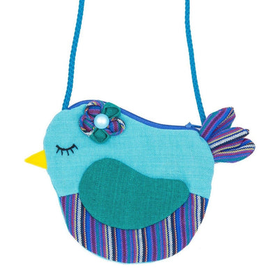 Fair Trade Birdie Purse Turquoise ?id=14031181774901