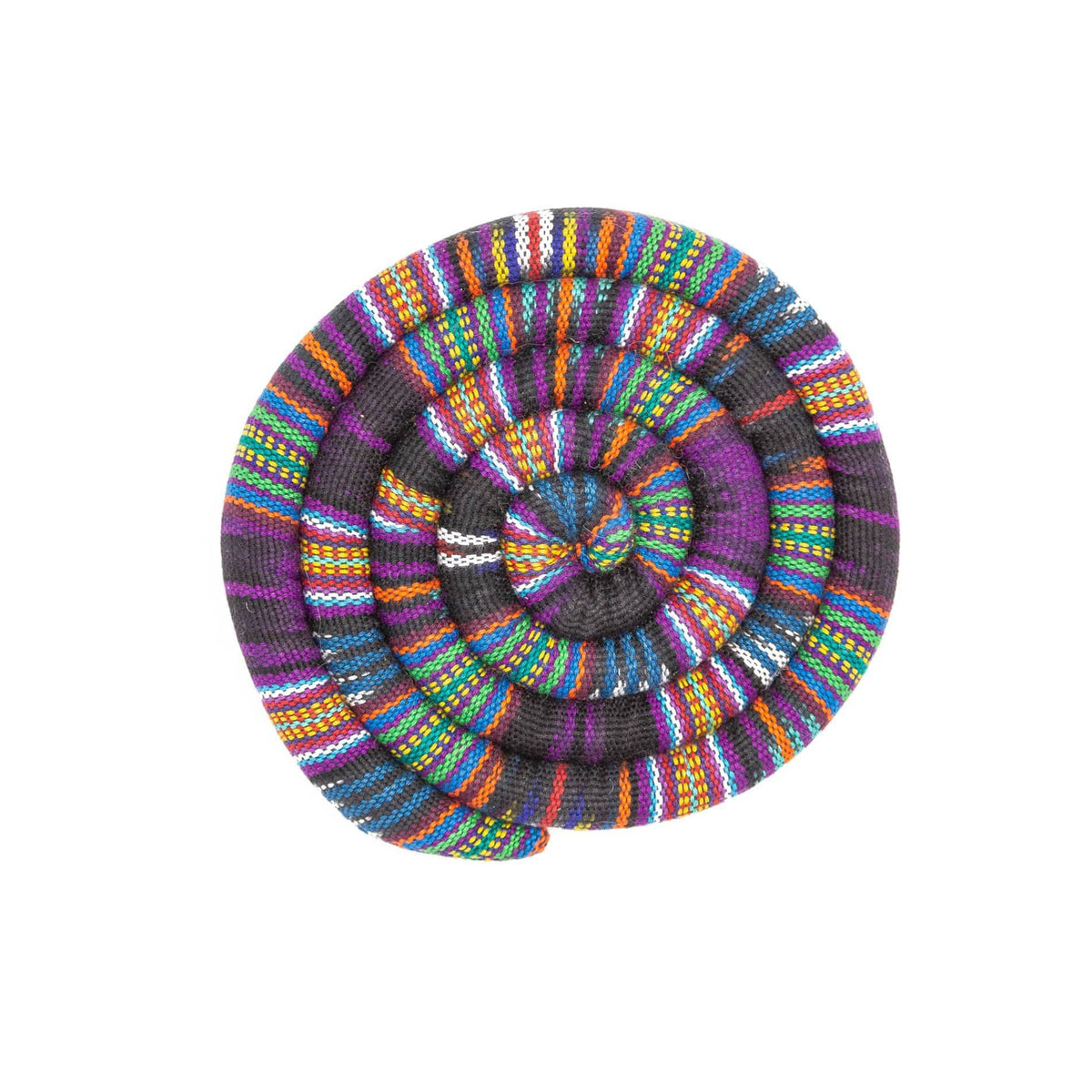 Fair Trade Medium Spiral Spiced Trivet Bright