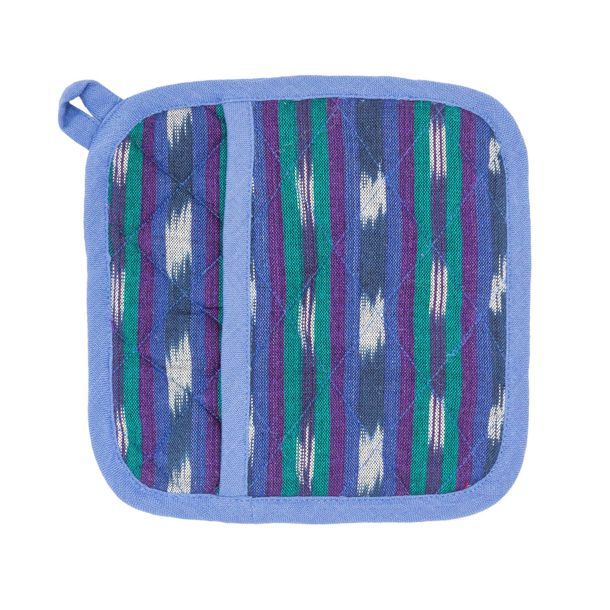 Pocket Pot Holder - Blue