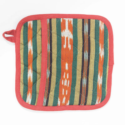 Pocket Pot Holder - Olive Terracotta