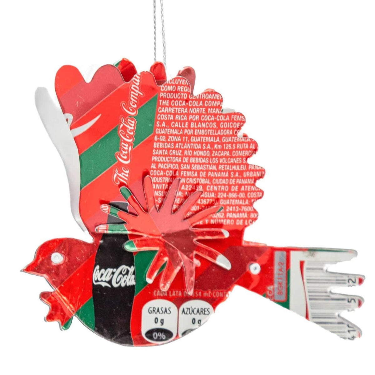 Recycled 3D Dove Ornament