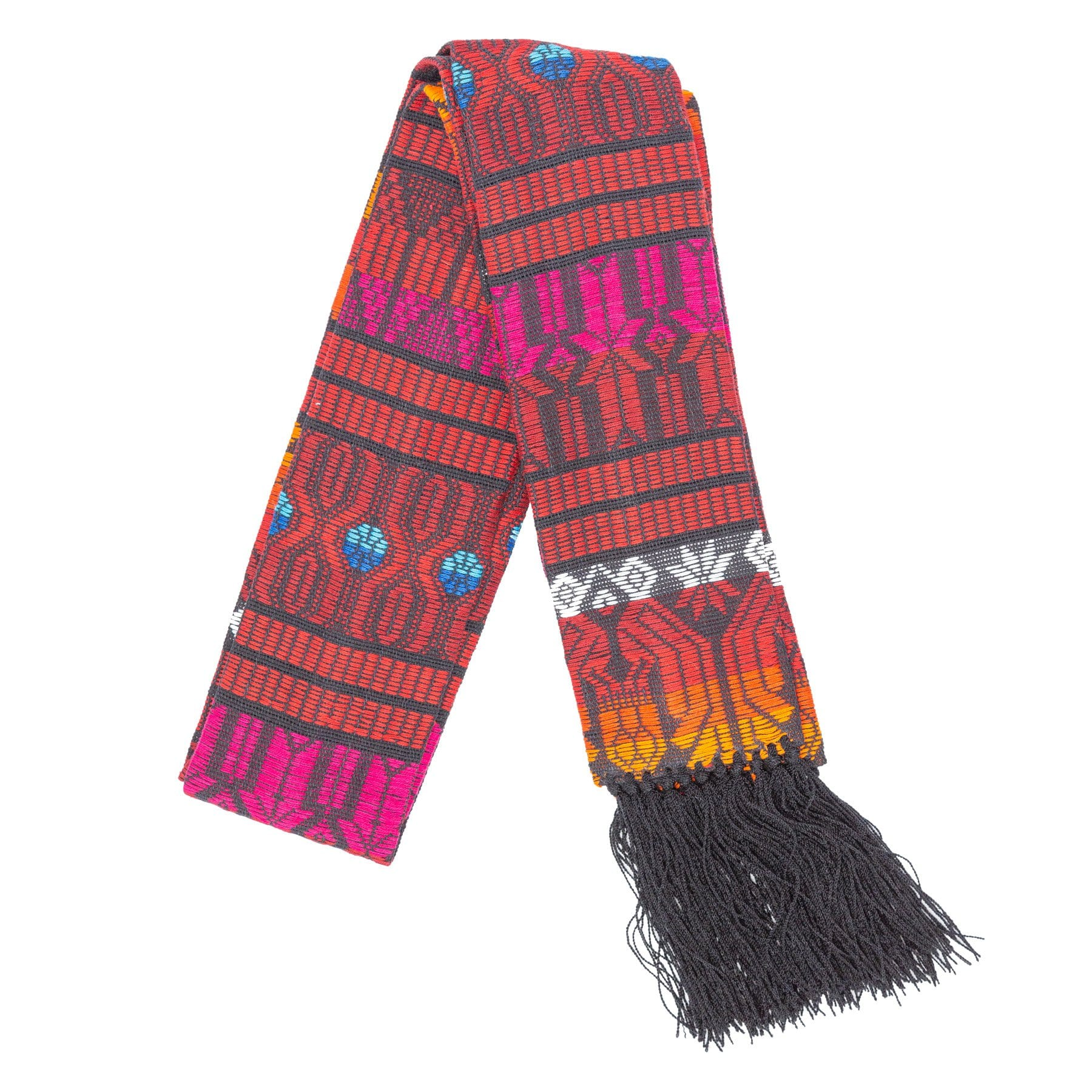 Fair Trade Red Brocaded Clerical Stole ?id=14022729728053