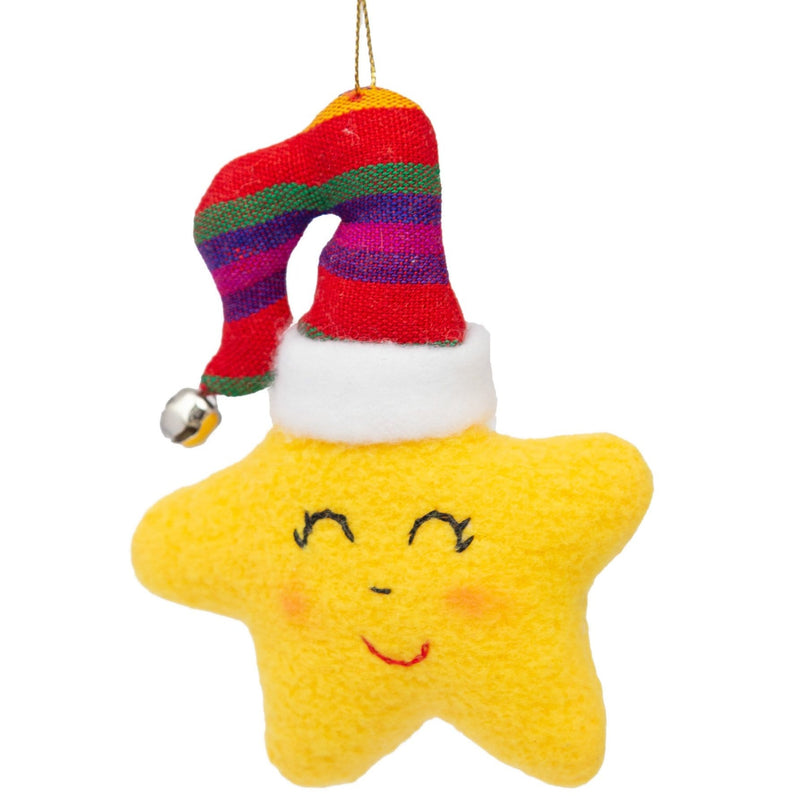 Fair Trade Star Ornament