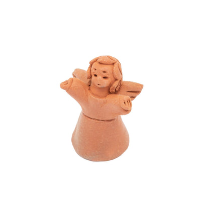 Terracotta Angelito with Pouch