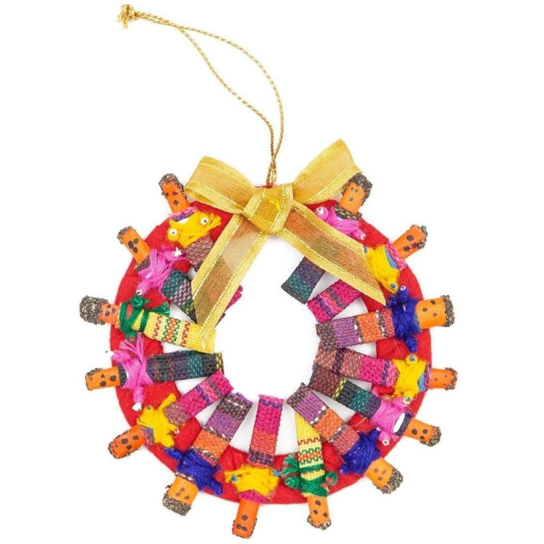 Worry Doll Wreath Ornament ?id=14052069605429