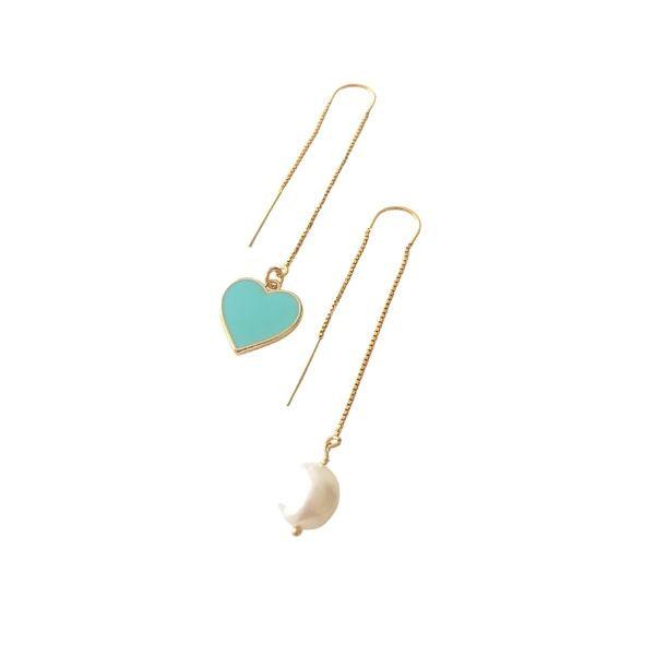 Heart and Pearl threaders (More Colors Available)
