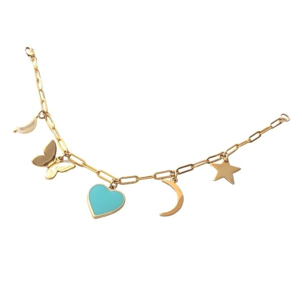 Charm Bracelet (More Colors Available)